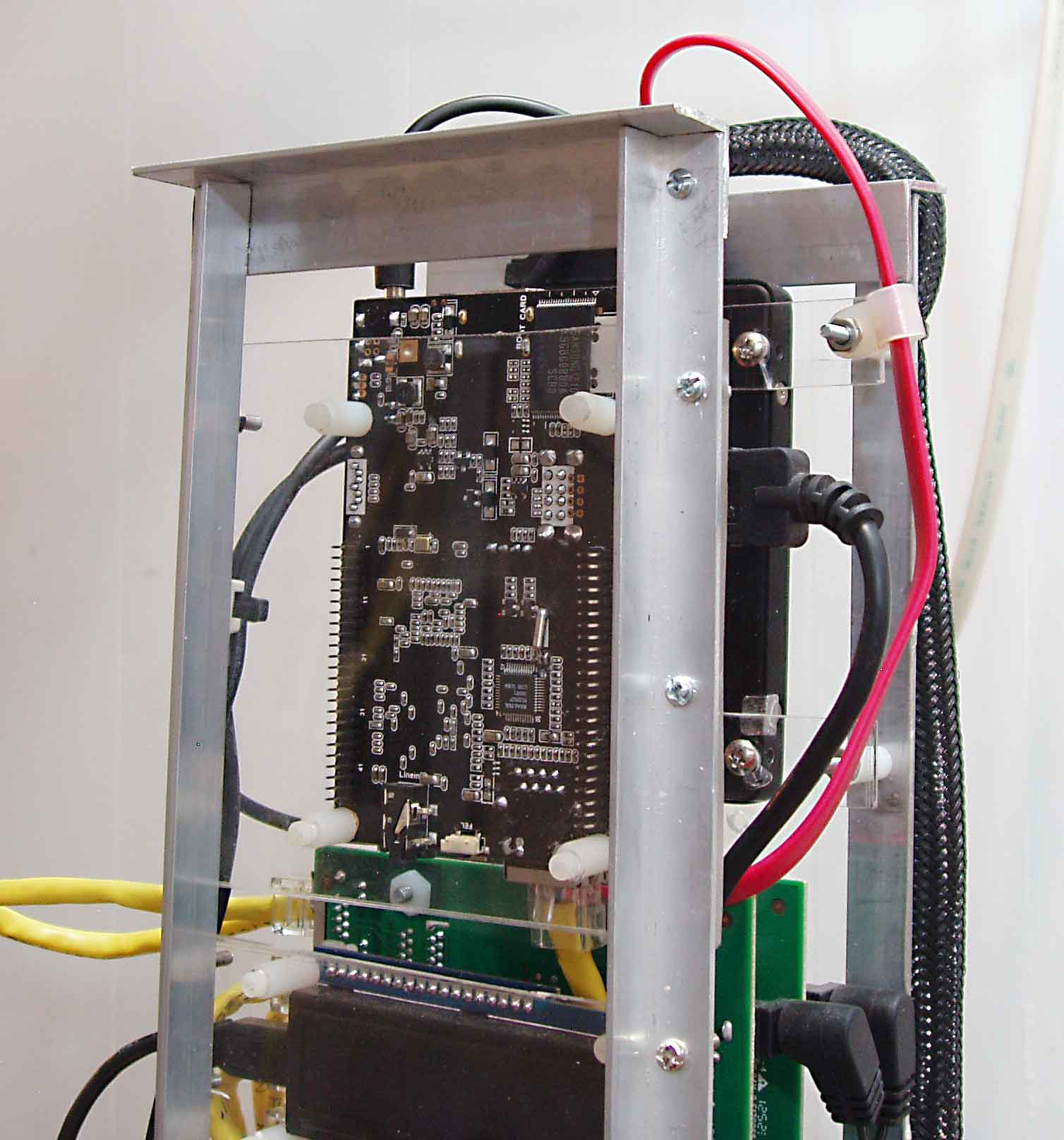 Tower Of Pi Project Terminus Usb Hub Buy Electronic Printed Circuit Boardboard Hubcircuit I Also Had To Repair An Intermittent Cable Between The Two Gig E Switches Note That Cross Connect Port Status Led Should